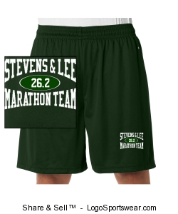 Dark Green Marathon Shorts Design Zoom