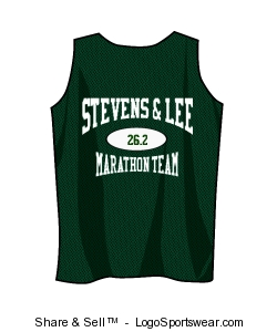 Ladies' Reversible Marathon Team Tank Top Design Zoom