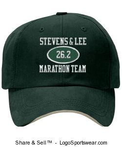 S&L Marathon Team Baseball Cap Design Zoom
