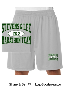 Silver Marathon Shorts Design Zoom